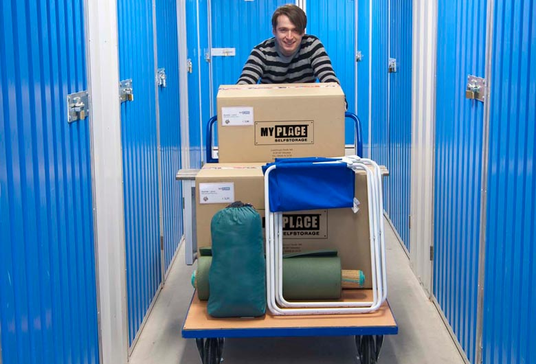 Furniture storage in Vienna - high safety and easy access